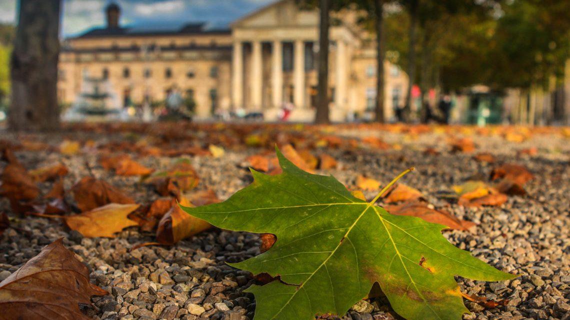 Kurhaus Wiesbaden im Herbst. ©2017 Heiko Speck / Flickr