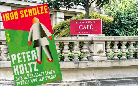 Ingo Schulzeit am 6. Dezember im Literaturhaus. ©2017 Volker Watschounek / Amazon