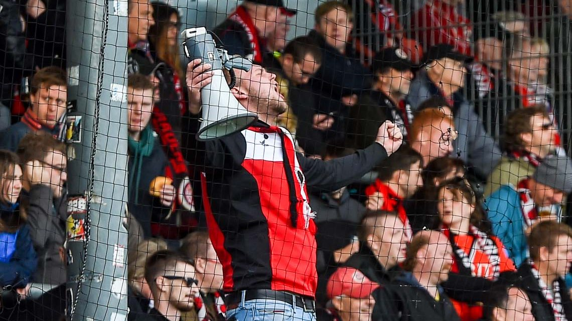 Archivbild: ©2017 3. Liga, 14. Spieltag. 2017.2018, SV Wehen Wiesbaden - SC Preußen Münster, Endergebnis 6:2