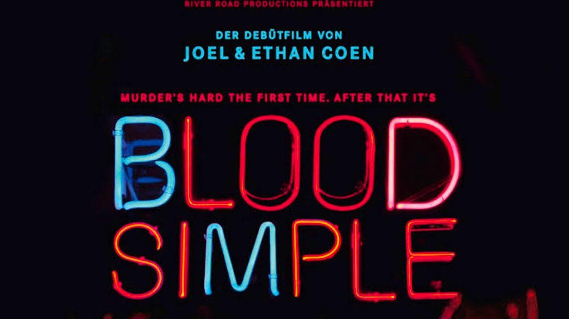 Filmplakat zu Blood Simple | 1984 ©2017 Filmplakat