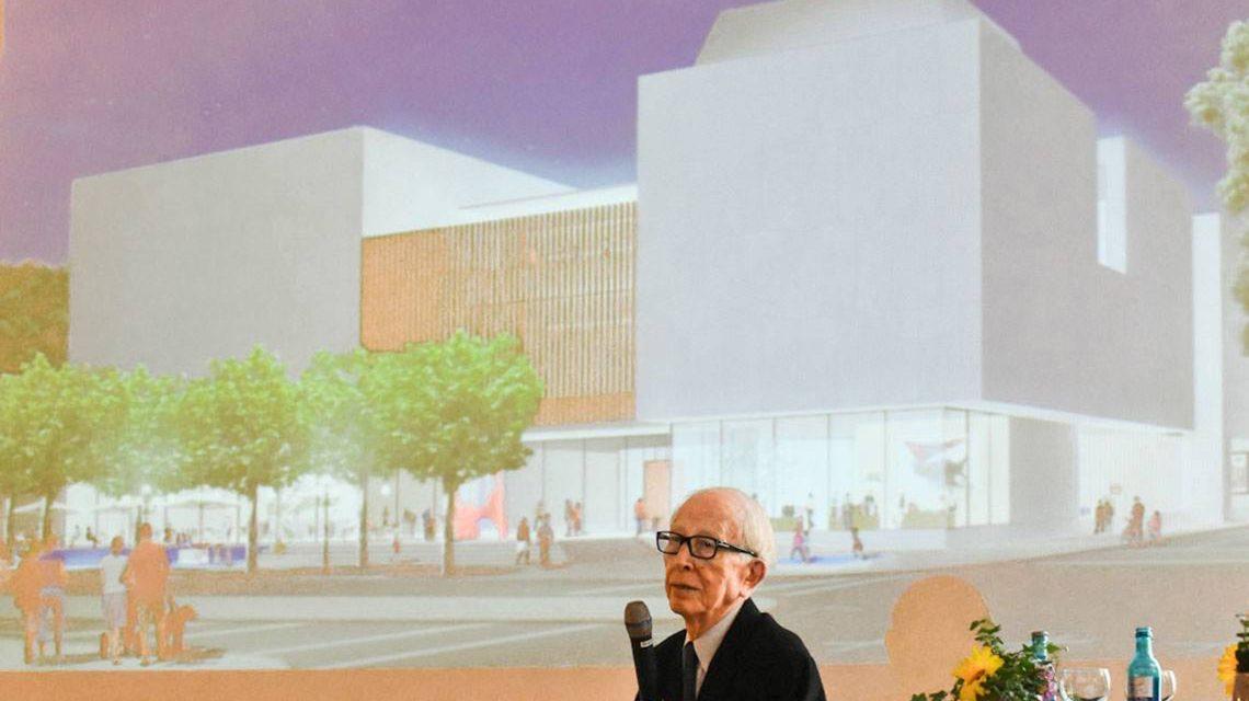 Baubeginn des Museum Reinhard Ernst