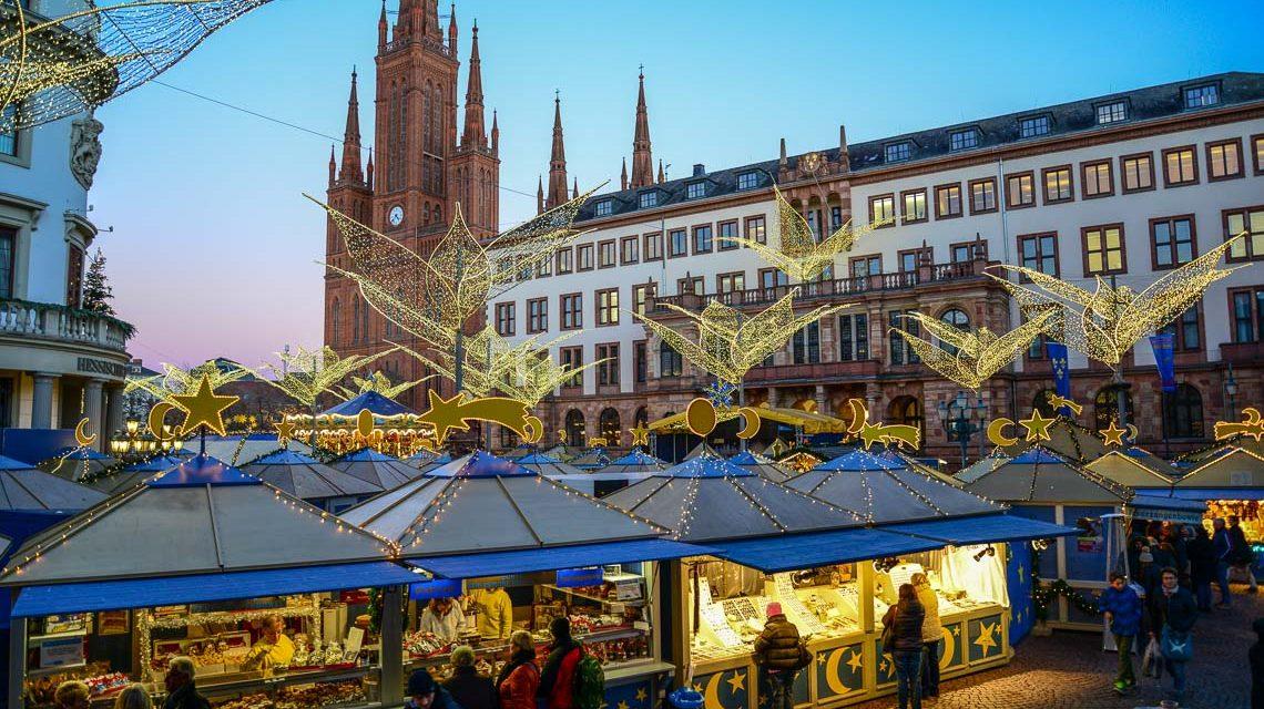Wiesbadener Sternschnuppenmarkt @2017 Volker Watschounek