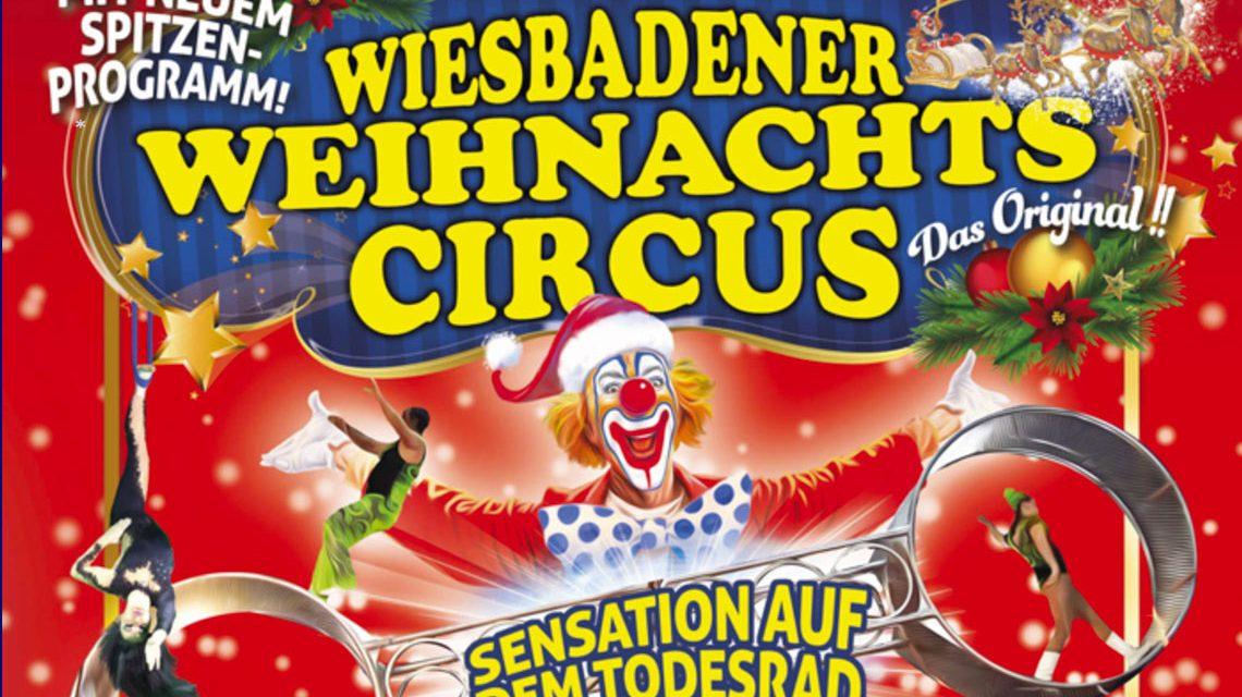 Bereits zum fünften Mal bringt der Lieblingscircus der Wiesbadener neue Manegen-Stars der internationalen Circuswelt an den Rhein. ©2017 Weihnachtscirkus