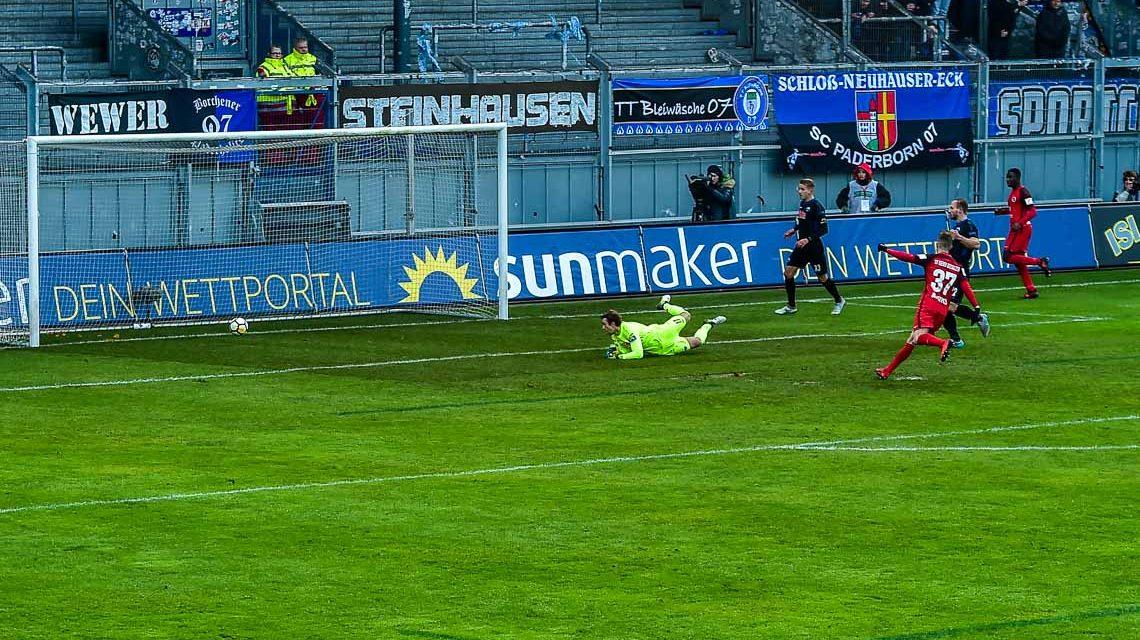 SV Wehen Wiesbaden schlägt den Tabellenführer