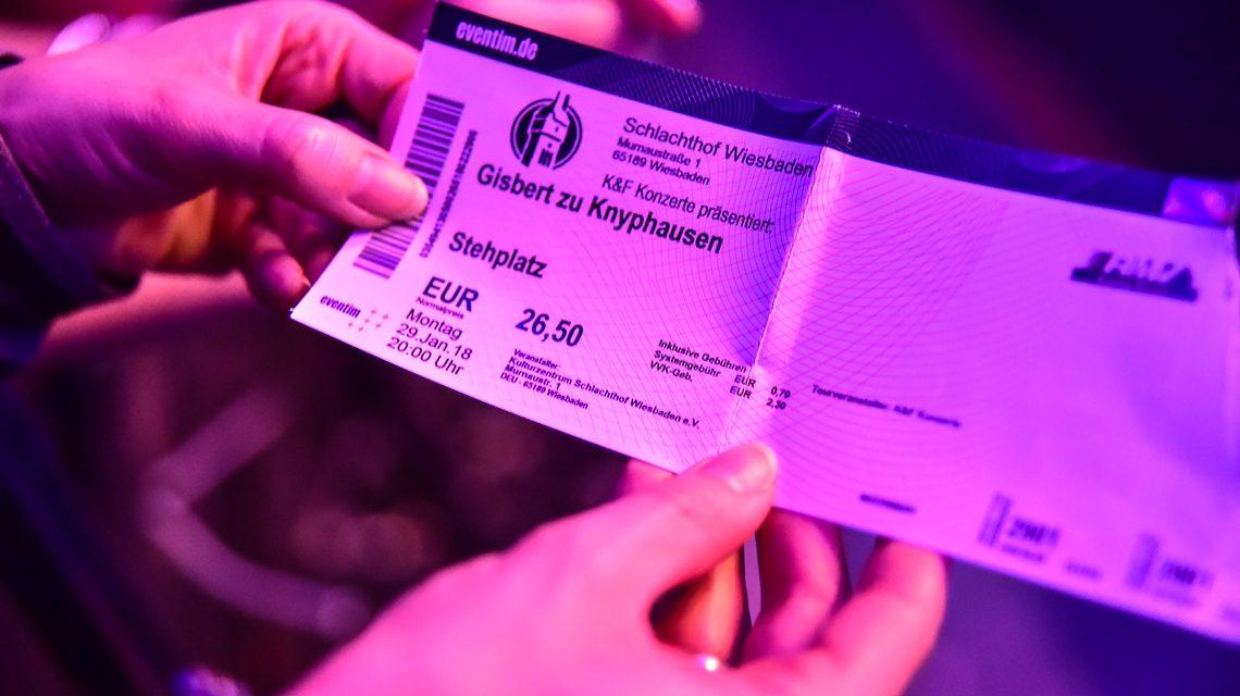 Gisbert zu Knyphausen begeistert das Wiesbadener Publikum