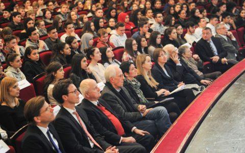 Mit über 750 Schülern ist der IHK-Wirtschaftsführerschein 2017 gestartet. 724 werden es in diesem Jahr sein. ©2018 Paul Müller
