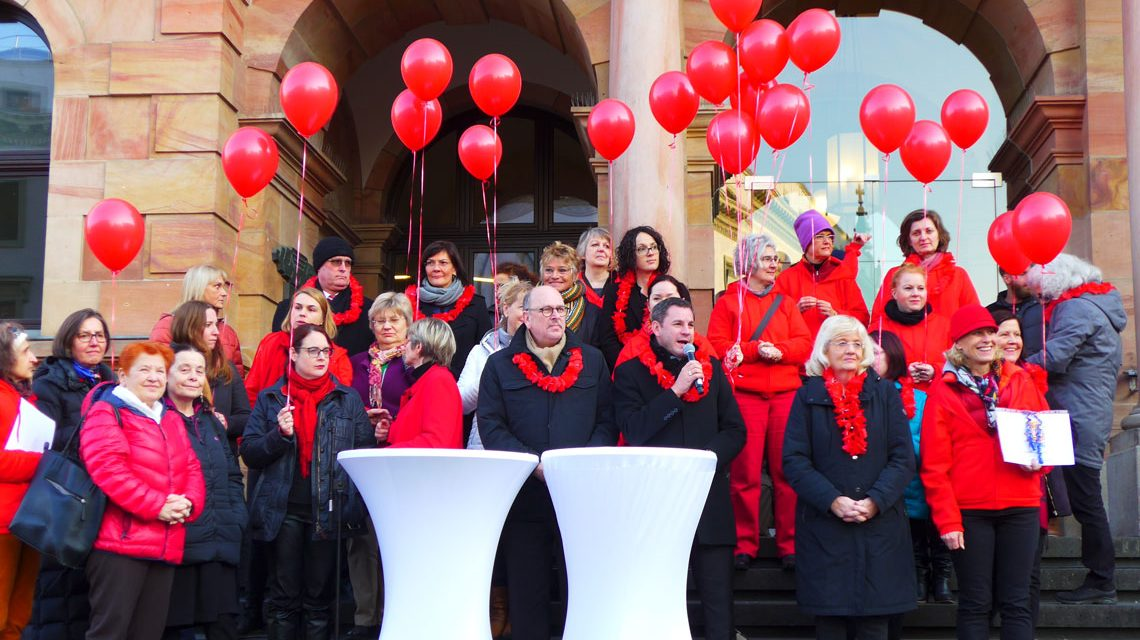 One Billion Rising Wiesbaden 2018