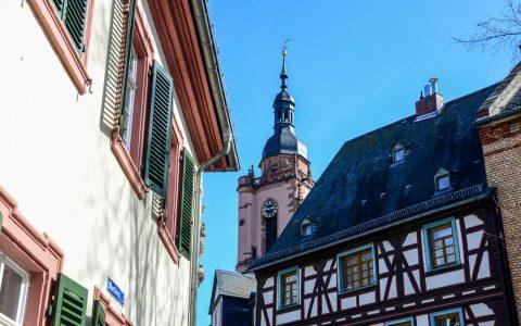 Eltville am Rhein ist die größte Stadt im Rheingau, Rheingau-Taunus-Kreis in Hessen. Einfach schön. © 2018 Volker Watschounek