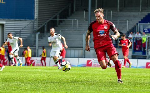 Robert Andrich - Der SV Wehen Wiesbaden startet gegen den FC Carl Zeis Jena in die 3. Liga. ©2018 Volker Watschounek