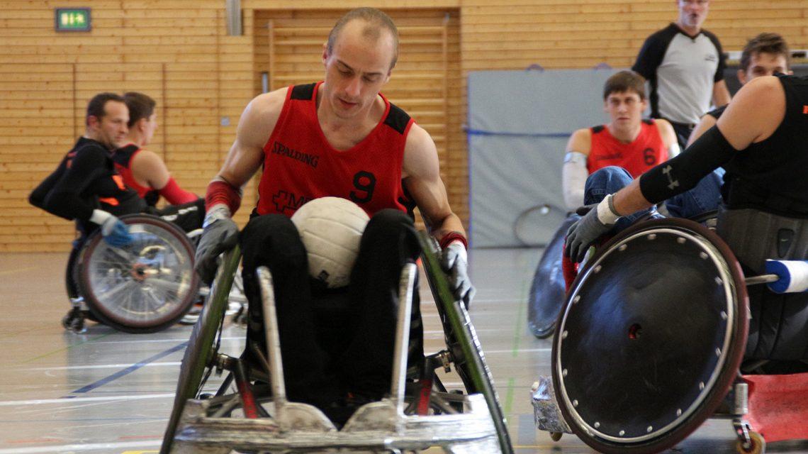 Diesmal nicht Rollstuhl Basektball, sondern Rollstihl Rugby: Glotz Cup 2014´. ©2018 Eric C. Späte / Flickr / CC BY-SA 2.0