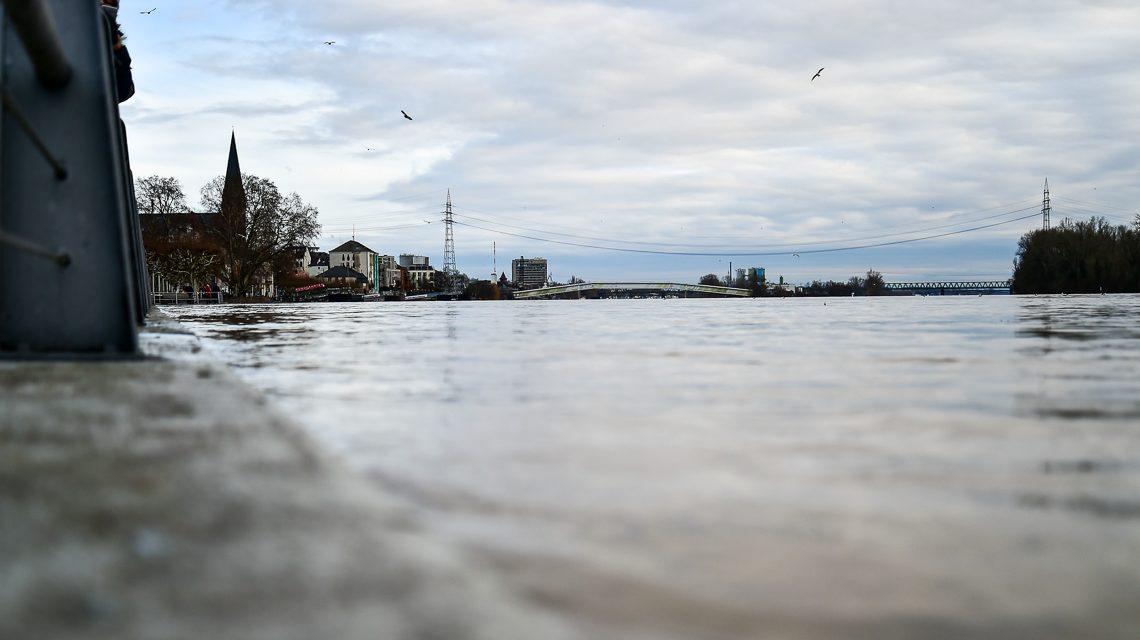 Wiesbaden: Die Lage an Rhein und Main entspannt sich