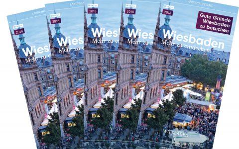 Broschüre Wiesbaden: Ein ganzes Jahr voller Hightlights. @2018 Wiesbaden Marketing