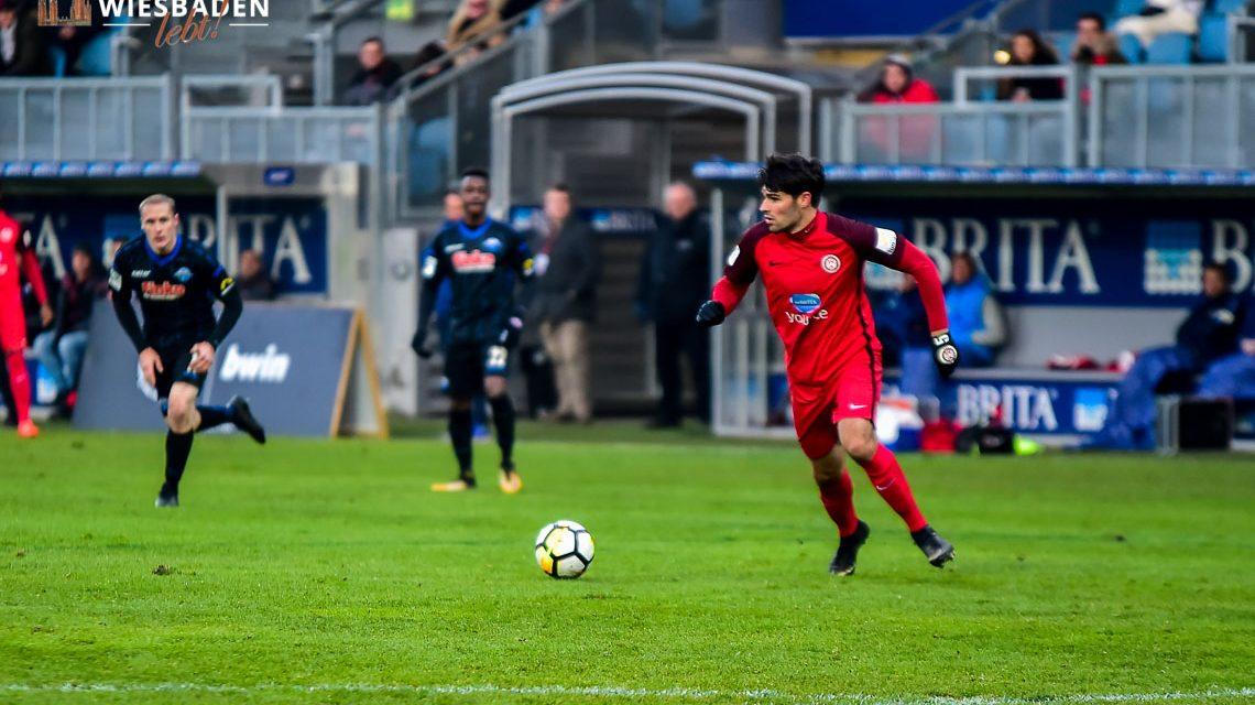 18. Spieltag, 3. Liga, 2017.2018 | SV Wehen Wiesbaden : SCV Paderborn 07 | 4:1 ©2017 Volker Watschounek