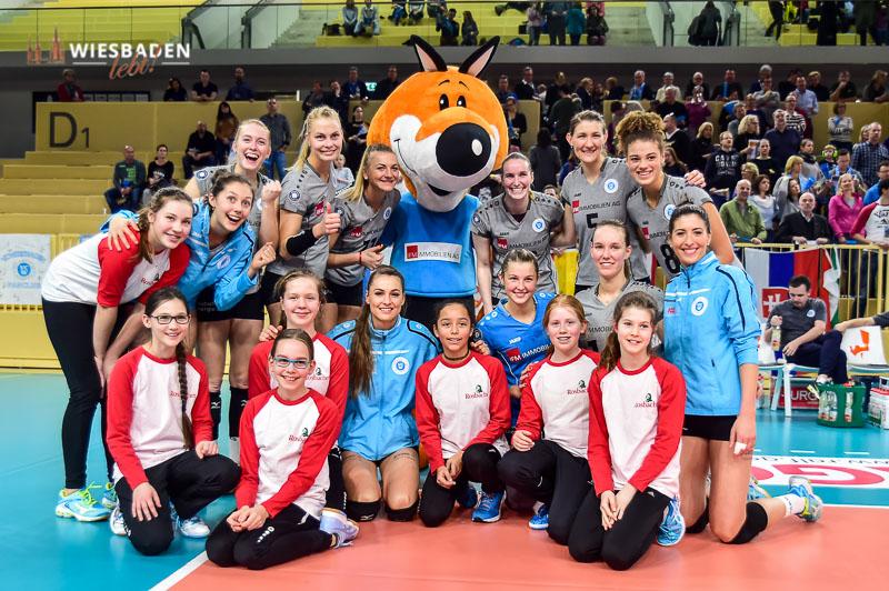 VC Wiesbaden: zwei Spiele, zwei Siege und fünf Punkte