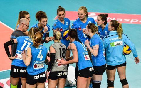 16. Spieltag, Volleyball Bundesliga Frauen, 2017.2018 | VC Wiesbaden : SC Potsdam | 1:3 ©2018 Volker Watschounek