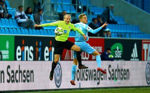 Chemnitzer FV - SV Wehen Wiesbaden | 27. Spieltag |Nachholspiel | 2017.2018 | 1:4 ©2018 Frank Kruczynski