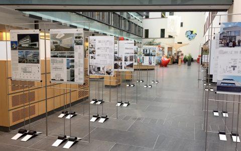 Vorbildliche Architektur in der Rheinstraße... @2018 NASPA / Daniele Gramlich