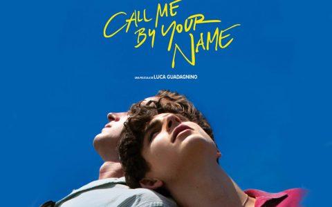 """Ausschnitt aus dem Filmposte """"Call you by your name"""". Ein Film, der erfreulich und leicht und zugleich auch emotional niederschmetternd ist. Ein romantisches Vollblut-Meisterwerk. ©2018"""