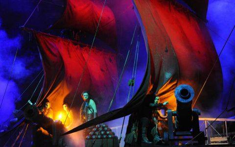 """""""Der fliegende Holländer"""" – romantische Oper in drei Aufzügen von Richard Wagner ©2018 Lena Obst"""