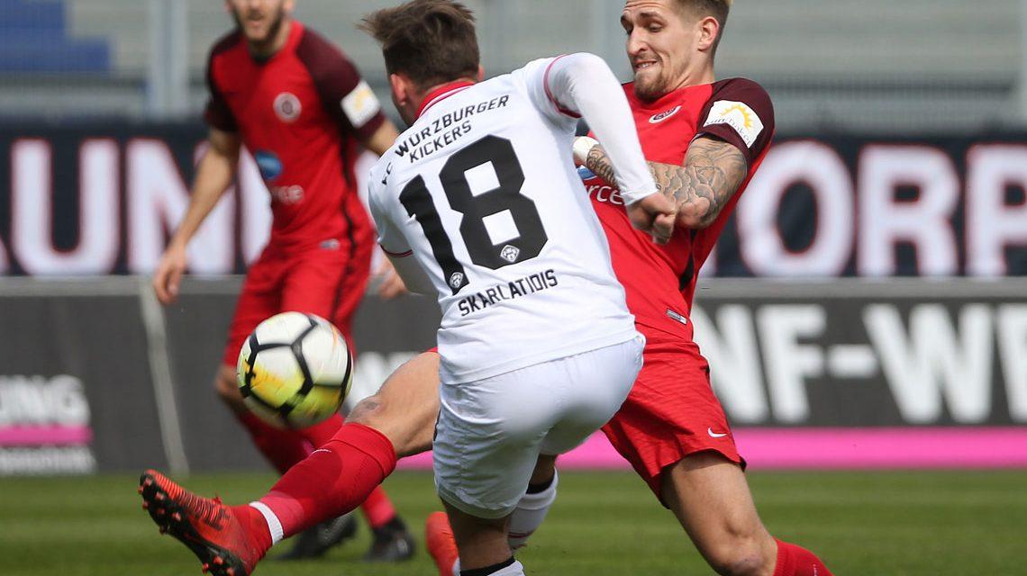 3. Liga: Würzburg stoppt Wiesbaden