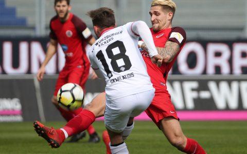 SV Wehen Wiesbaden - Würzburger Kickers | 0:2 | 31. März 2018 | 32. Spieltag | 3. Liga