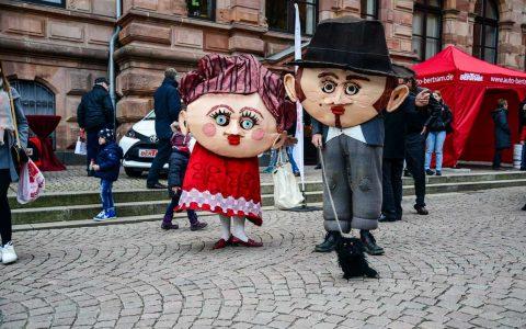 Impressionen vom Wiesbadener Ostermarkt © 2016 Volker Watschounek