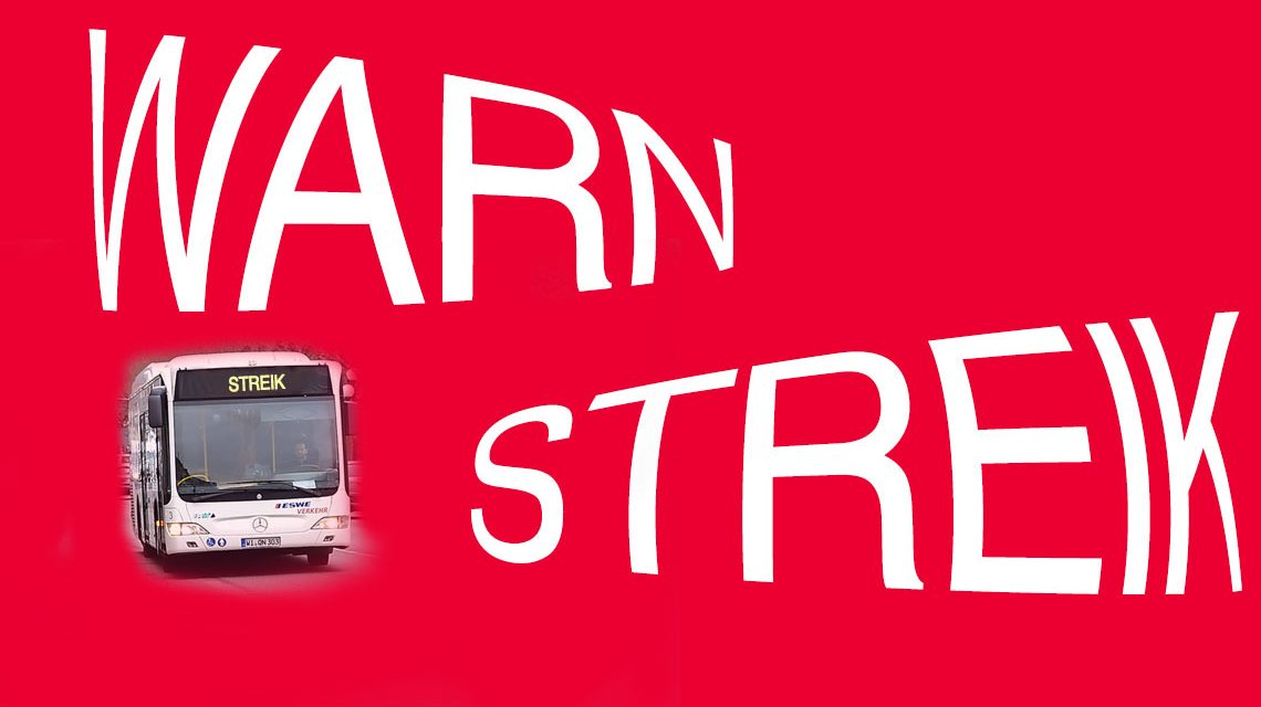 Busfahrer und Busfaherinnen gehen in den Streik. ©2018 Volker Watschounek