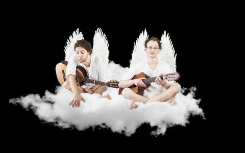 Simon und Jan, zwei runderneuerte Liedermacher im thalhaus.