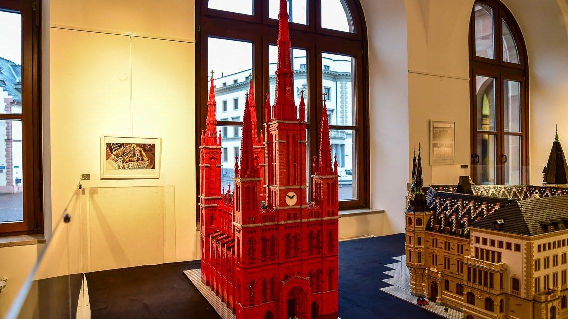 Lego Ausstellung im Rathaus