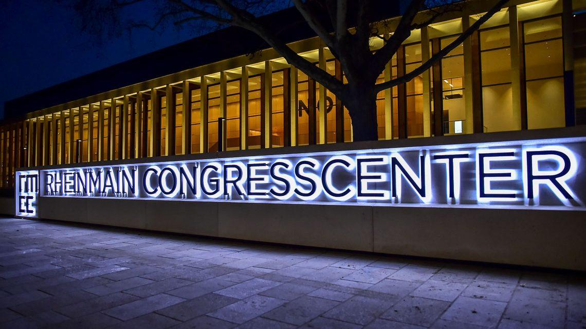 RheinMain CongressCentrum, ausgezeichnet. @2018 Volker Watschounek