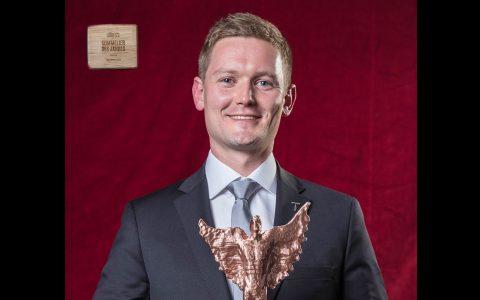 Jo Wessels ist Semmelier des Jahres. ©2018 Nassauer Hof
