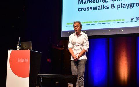 Mikael Colville-Andersen in Wiesbaden auf der see-Conference.