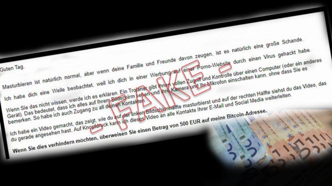 Wiesbadener Kriminalpolizei: Warnung vor Erpressermails - Niemals Geld überweisen!