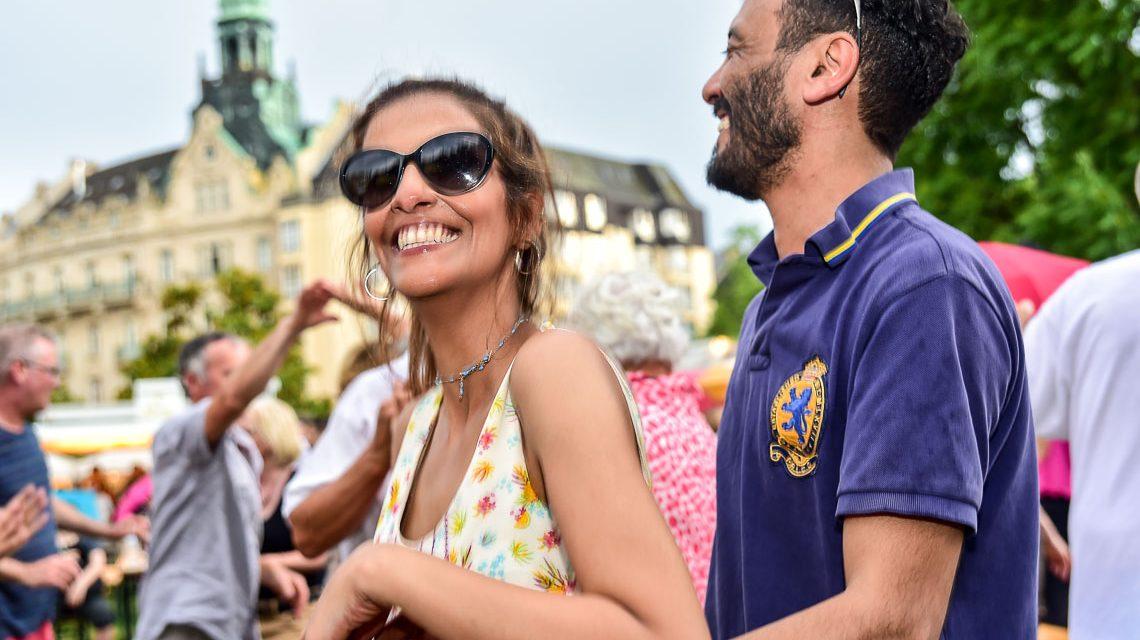 Kranzplatzfest rund um den Kochbrunnen