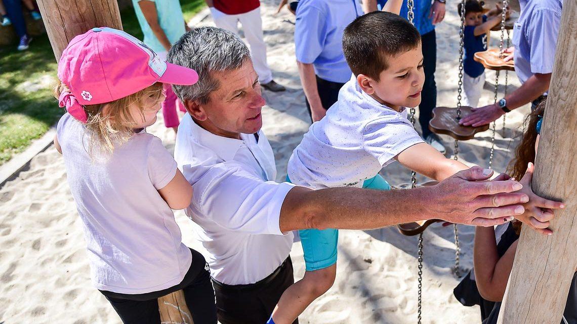 Neugestalteter Spielplatz Büdingenstraße wurde eingeweiht