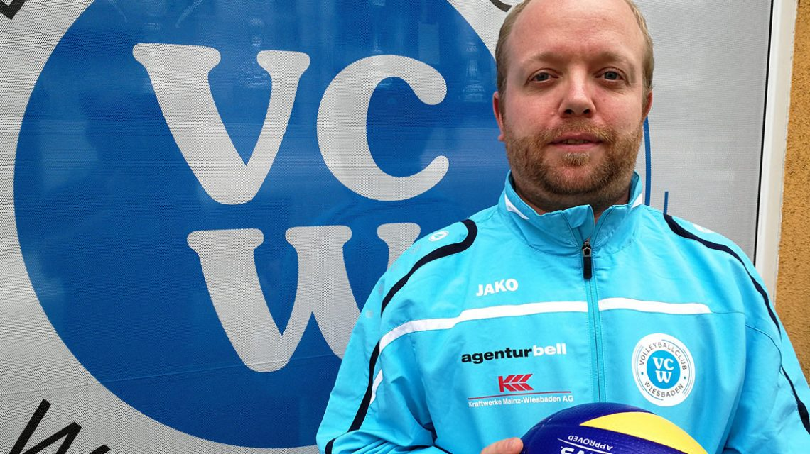 Olaf Minter ist neuer Co-Trainer, Scout und Teammanager. ©2018 VCW