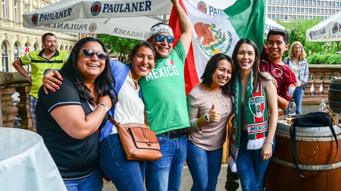 Public Viewing in Wiesbaden: Deutschland – Mexico