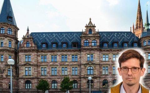 Camillo Huber-Braun seinen ersten Arbeitstag als neuer Stadtplanungsamtsleiter