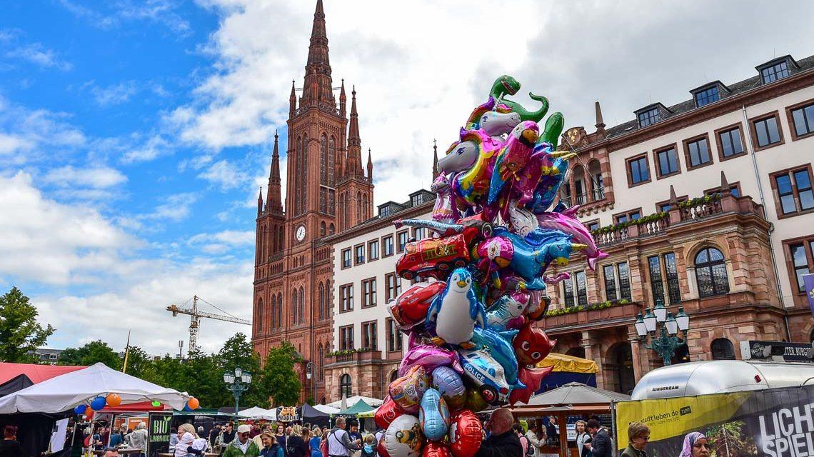 Wossis auf dem Schlossplatzfest in Wiesbaden