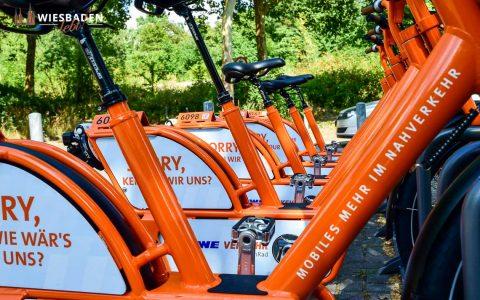 MeinRad, eine Handvoll Räder stehen am Moltkering. ©2018 Volker Watschounek