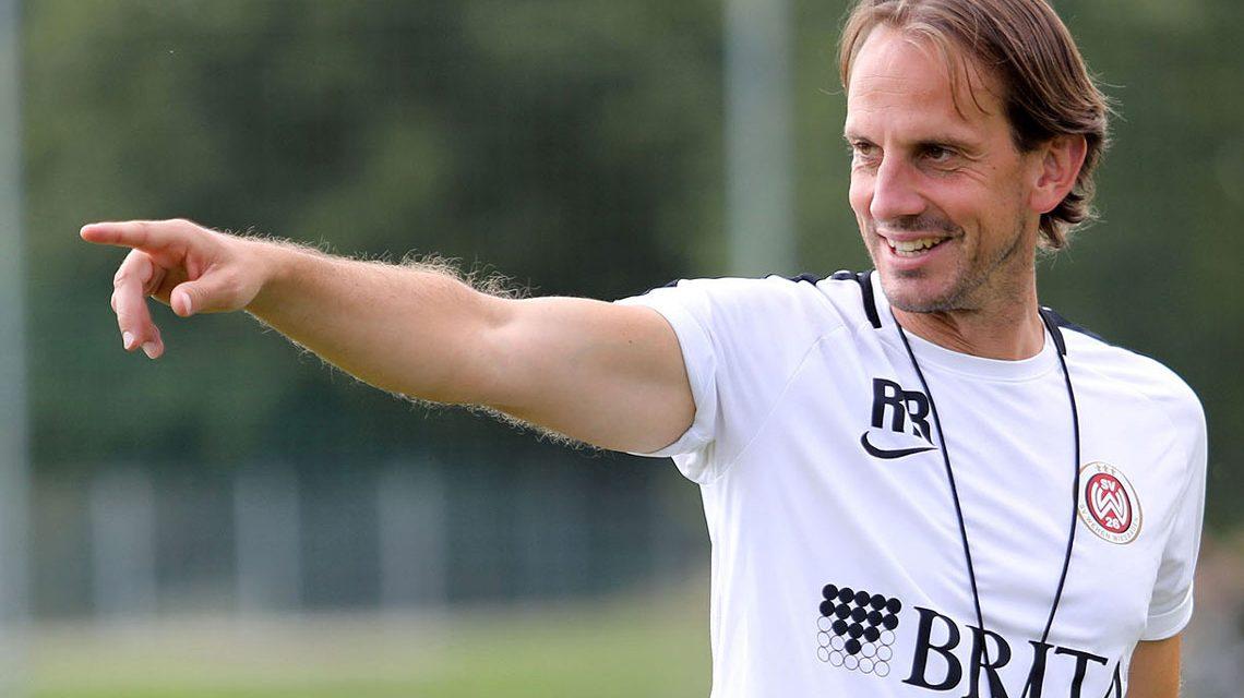 Wiesbadens Trainer Rüdiger Rehm im Trainingslager. Spielvorbereitung VfR Aalen.©2018 SVWW