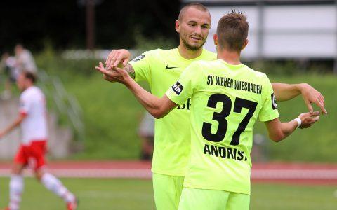 Testspiel Regensburg - SV Wehen Wiesbaden. 3. Ligist bezwingt 2. Ligist. ©2018 SVWW