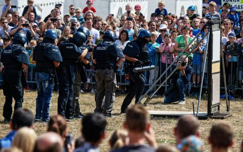 Tag der offenen Türe im Polizeipräsidium Westhessen. ©2018 Ralf Brinkmann