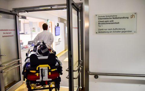 Notaufnahme im St. Josef Hospital. ©2018 Volker Watschounek