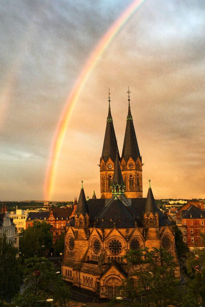Sehenswürdigkeit, Ringkirche, Wiesbaden @2018 Martin Fisch / Flickr / CC-BY-2.0
