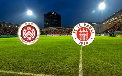 1. Pokalhauptrunde | 17. August 2018 | SV Wehen Wiesbaden - FC St. Pauli | Brita Arenm