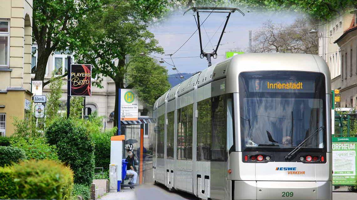 Die IHK Wiesbaden positioniert sich zum Thema City Bahn. ©2018 Volker Watschounek