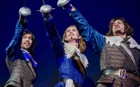 Wiederaufnahme: Musical: Die drei Musketiere, Staatstheater Wiesbaden. ©2019 Christine Tritscher
