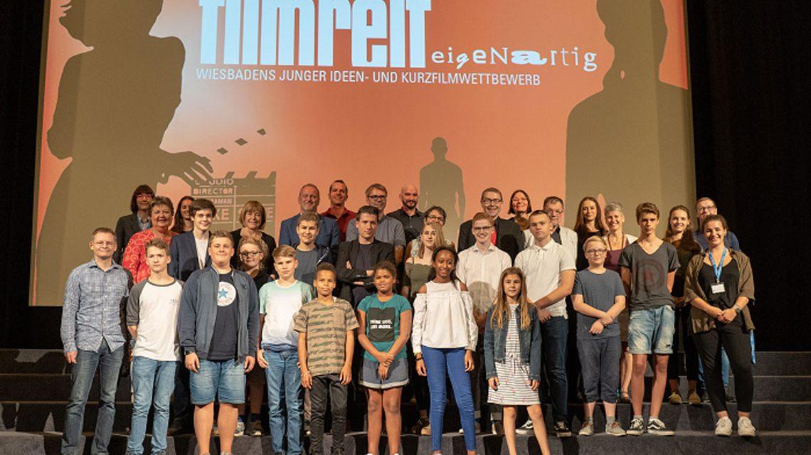 Filmreif Gruppenfoto