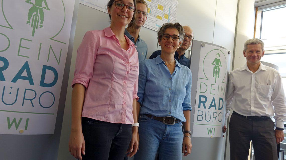 MeinRad und Dein RadBüro, zwei Bausteine der Wiesbadener Verkehrswende. ©2018 Stadt Wiesbaden